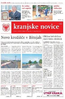 Kranjske novice Avgust 2019 / številka 8 naslovnica
