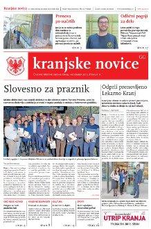 Kranjske novice November 2019 / številka 11 naslovnica