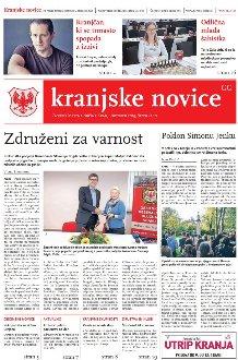 Kranjske novice Oktober 2019 / številka 10 naslovnica